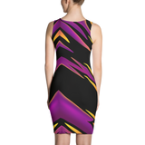 Lazer Fitted Dress by GearX