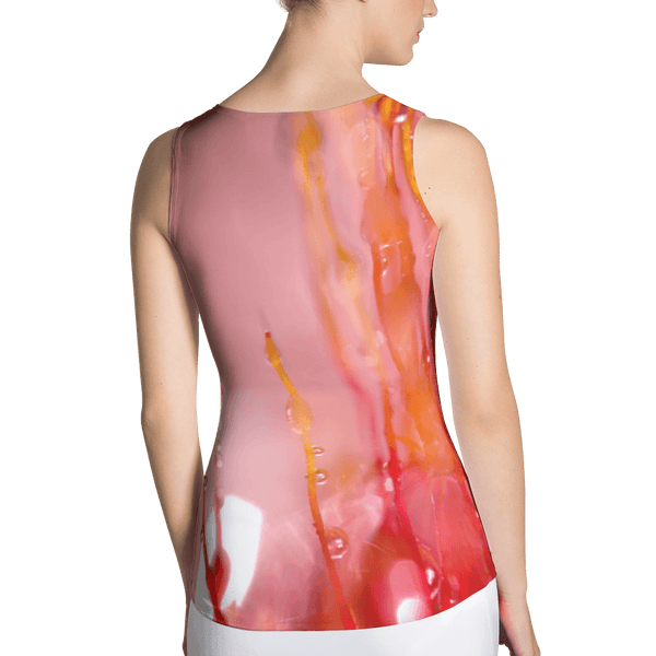 Coral Amber Fitted Tank by GearX
