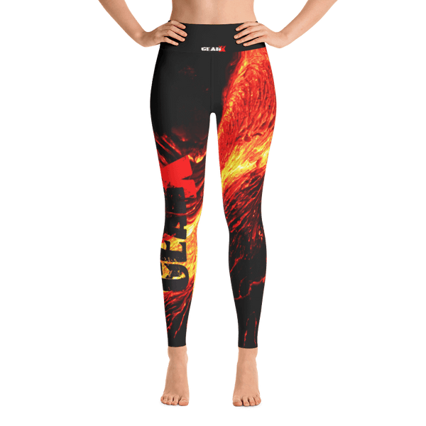 Alpha Gurl Yoga Leggings by GearX