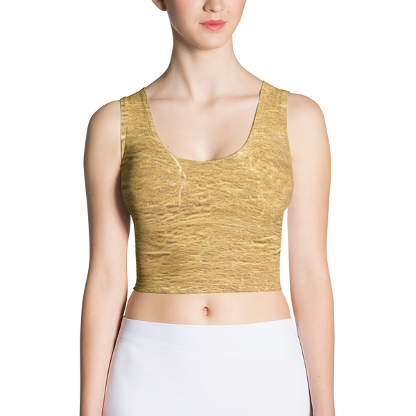 GoldN Gurl Fitted Crop by GearX