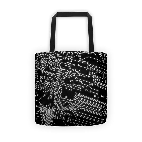 Circuit Board Tote Bag by GearX