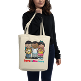 Love Is The Cure Kids Hug Eco Tote