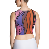 Rainbow Twist Fitted Crop by GearX
