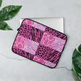 Pink Afriq Laptop Sleeve by GearX