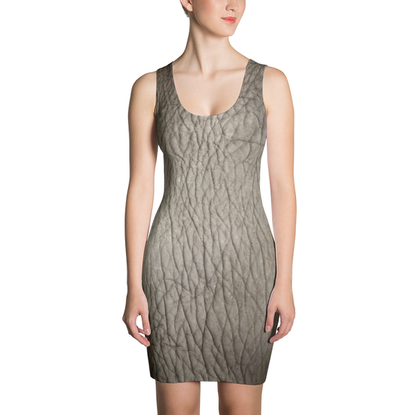 LBD Elefant Fitted Dress by GearX