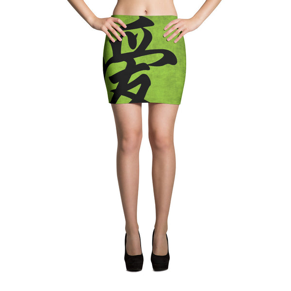 China Love Mini Skirt by GearX