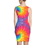 Abstract Fantasia Fitted Dress by GearX