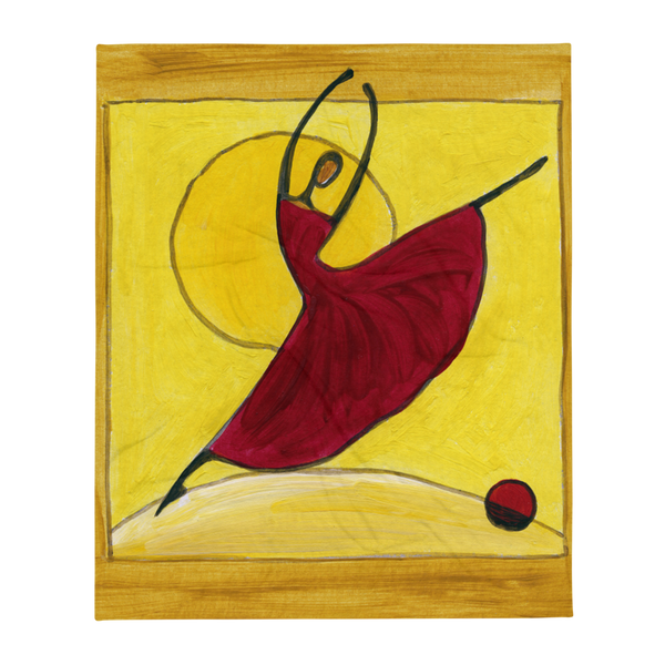 Clasik Dancer Throw Blanket by GearX