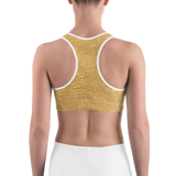 GoldN Gurl Sports Bra by GearX