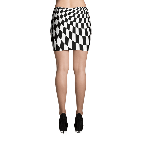 Trippy Mini Skirt by GearX