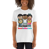 Love Is The Cure Kids Hug Unisex Tee