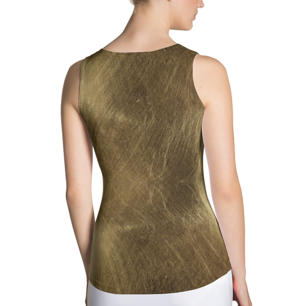 Golden Fitted Tank by GearX