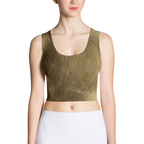 Golden Fitted Crop by GearX