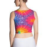 Abstract Fantasia Fitted Crop by GearX