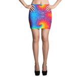 Abstract Fantasia Mini Skirt by GearX