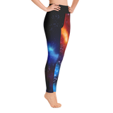 Deep Space Nebula Yoga Leggings by GearX