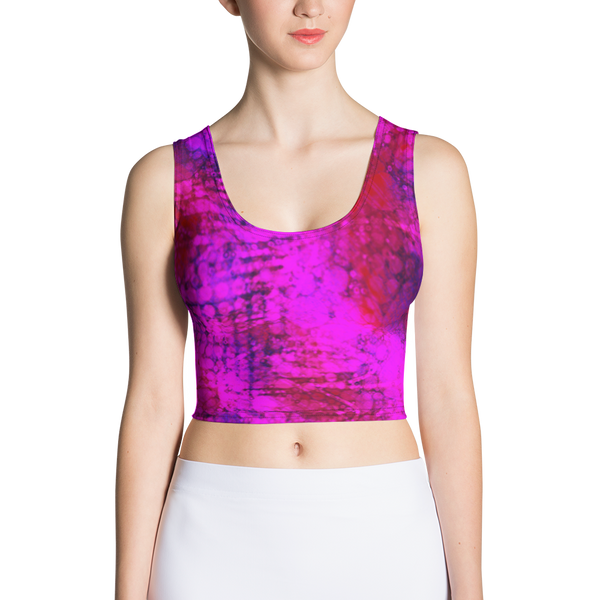 PinkFizz Fitted Crop by GearX