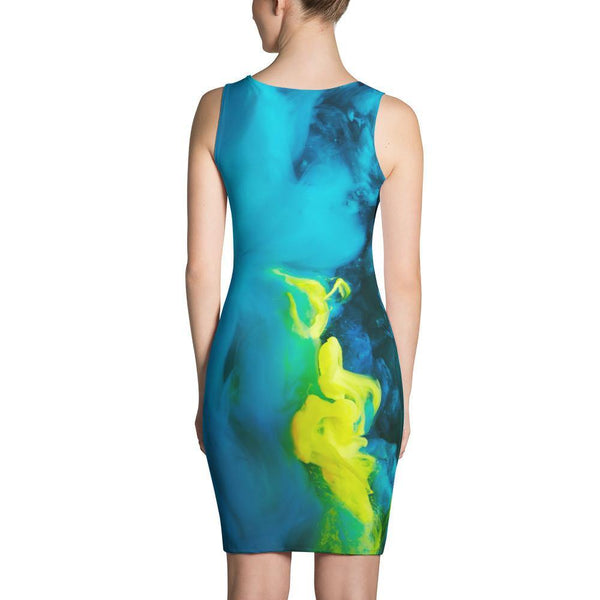 Abstract Salvo Fitted Dress by GearX