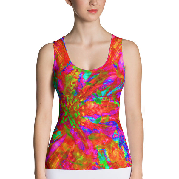 Nirjuana Women's Fitted Tank by GearX