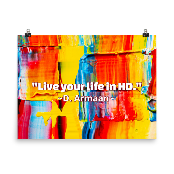 Life in HD Poster