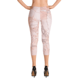 Chill Pink Capri Leggings by GearX
