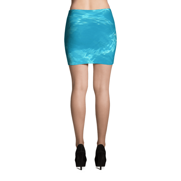 Blue Sea Mini Skirt by GearX