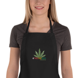 Free The Weed Embroidered Apron
