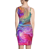 Fingerpaint Fitted Dress by GearX