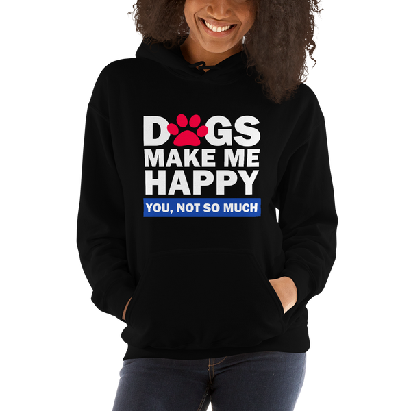 Dogs Happy Hoodie by GearX