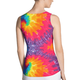Abstract Fantasia Fitted Tank by GearX