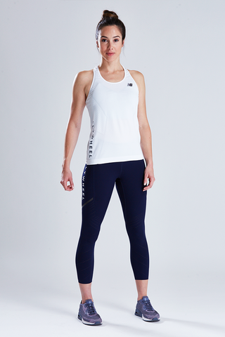 New Balance Women's Vented Precision Crop Legging