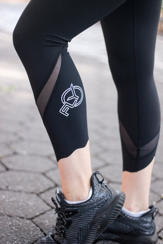lululemon Wunder Under Scallop Crop Legging