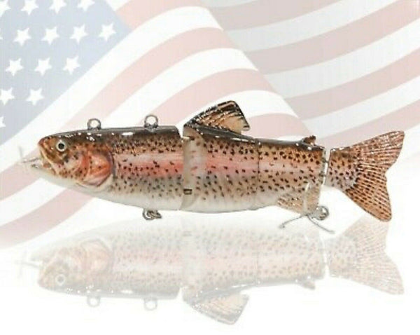 Robo Lunker Lure - Electric Live Swimbait with Auto Swim Technology