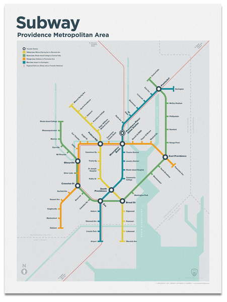 Providence Subway Map
