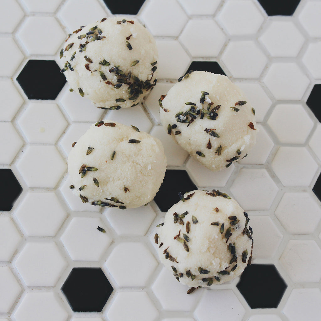 lavender milk + honey bath melts - Kay Haupt