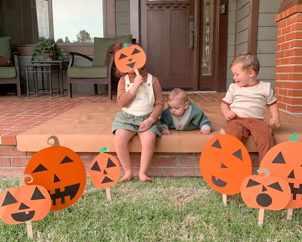 How To- A Paper Pumpkin Patch