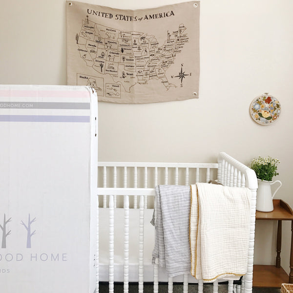 nursery - brentwood home mattress giveaway