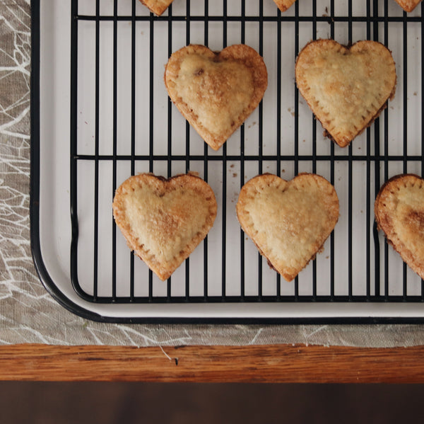 mini heart pies - Audrey Chaney