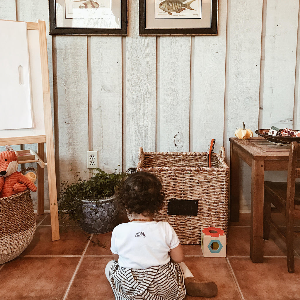 Minimalism & The Playroom by Autumn from @autumnsjoys