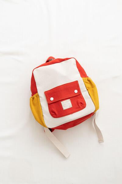tour backpack - big kid's size - color block