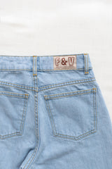 women's vintage jeans - light wash