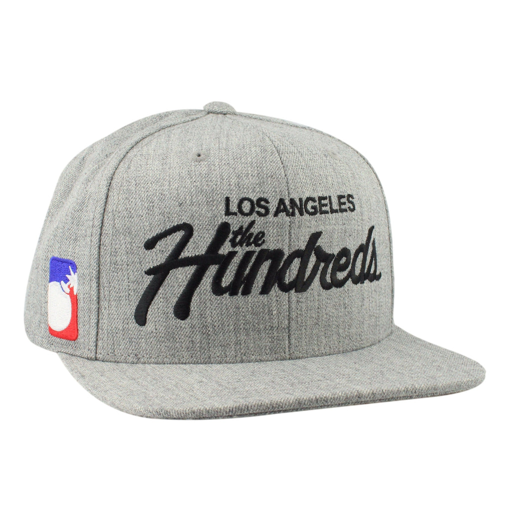 The Hundreds Forever Team Snapback Hat Grey – sykoutfits.com db82945567ce