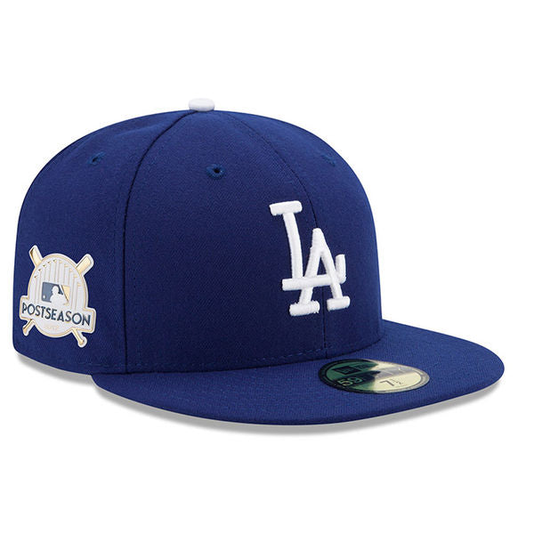 7def2f0e1a5 Los Angeles Dodgers Post Season 2017 New Era 59FIFTY Fitted Hat ...