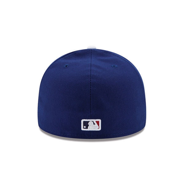 buy online 16cc9 10044 Los Angeles Dodgers New Era Royal 2017 World Series Bound Side Patch  59FIFTY Fitted Hat ...