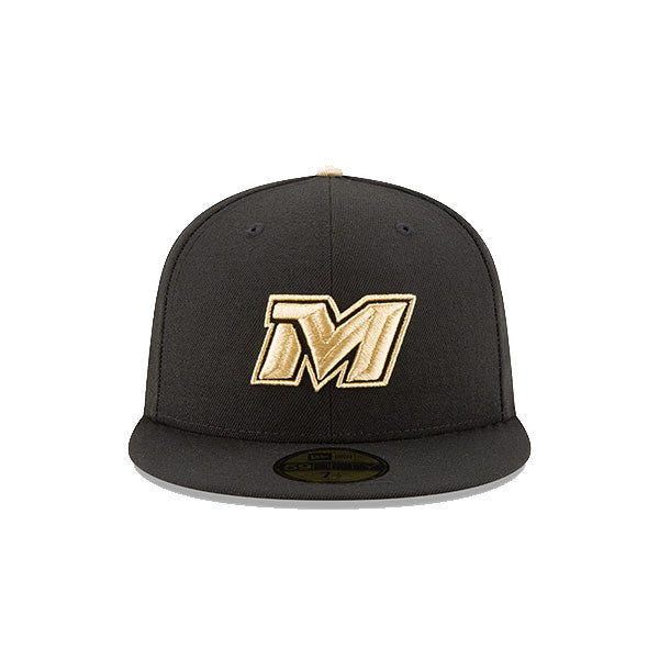 MLB Mexico Caribbean League New Era 59FIFTY 2017 Series Gold ... ac77e71f1b4