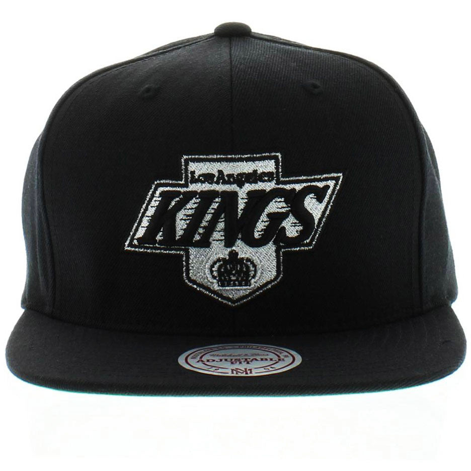 92b5c71e9a6466 Mitchell & Ness Men's The Los Angeles Kings Logo Snapback Hat ...