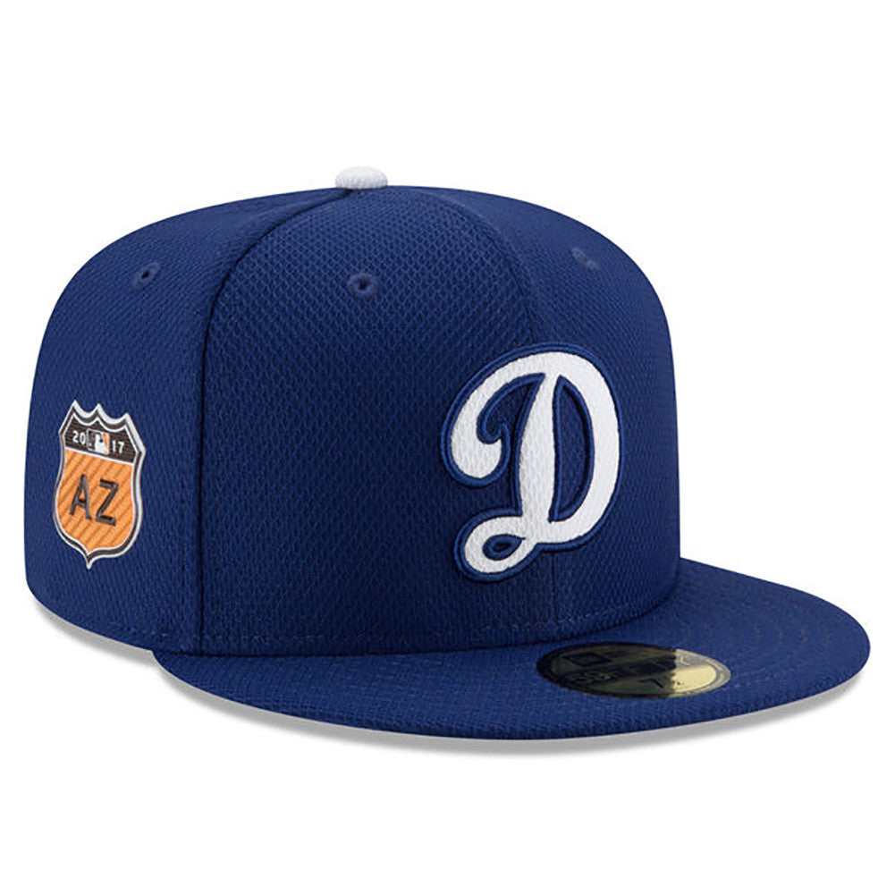 cheap for discount 55255 774ea ... Los Angeles Dodgers New Era Royal 2017 Spring Training Diamond Era  59FIFTY Fitted Hat ...