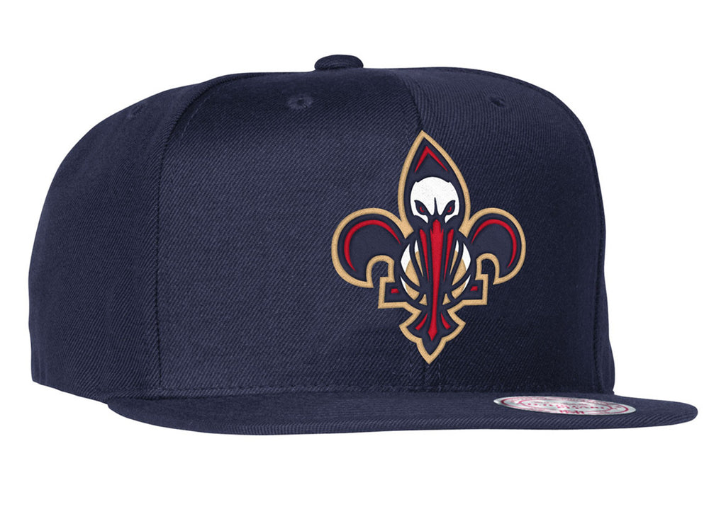 designer fashion 6050a 39379 ... promo code for mitchell ness new orleans pelicans logo navy snapback cap  22d46 e59c6