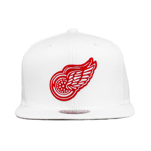 7b46f13db033c NHL Mitchell & Ness Detroit Red Wings Snapback Hat – sykoutfits.com