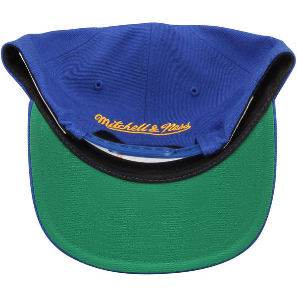 online store b6a06 bb509 Mitchell   Ness Royal Golden State Warriors The City Hardwood Classics Snap  ...